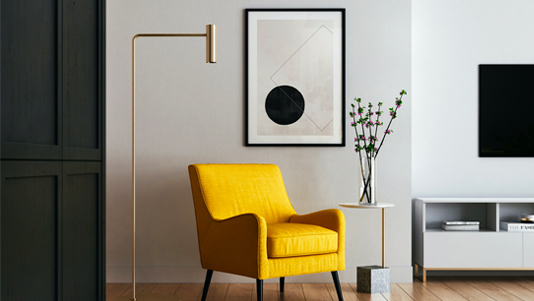 Salon-fauteuil-jaune